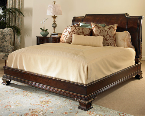 Century Furniture - King Platform Bed - 309-166