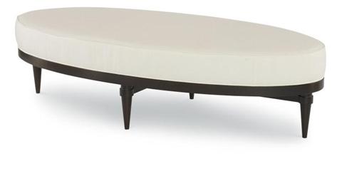 Century Furniture - Maks Oval Cocktail Ottoman - 3917