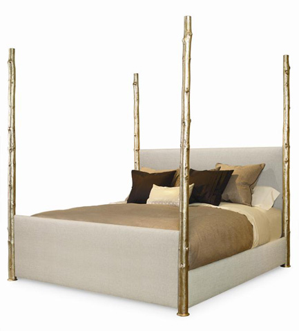 Century Furniture - King Wildwood Upholstered Poster Bed - 719-136