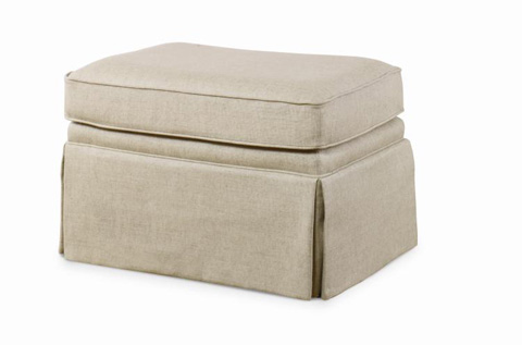 Century Furniture - Leonardo Ottoman - ESN202-12