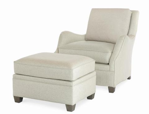 Century Furniture - Cassidy Ottoman - ESN258-12
