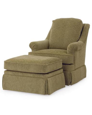 Century Furniture - Tyler Ottoman - LTD7122-12