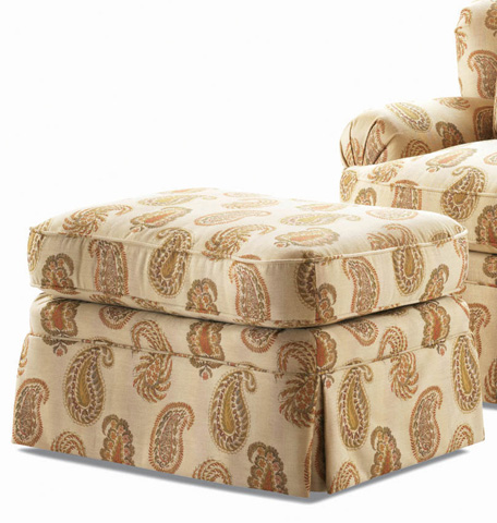 Century Furniture - Sommerset Ottoman - LTD9162-12