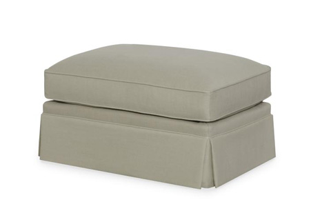 Century Furniture - Carter's Skirted Ottoman - TLTD9611-12SK