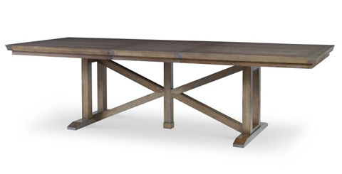 Century Furniture - Gallery Trestle Dining Table - AE9-306