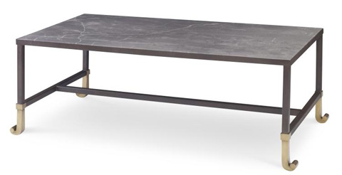 Century Furniture - Calliope Cocktail Table With Stone Top - AEA-609