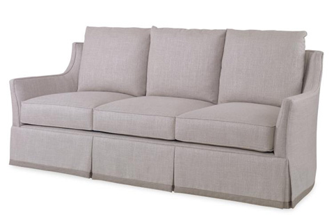 Image of Eyre Skirted Sofa
