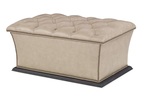 Image of Warren Tufted Storage Ottoman