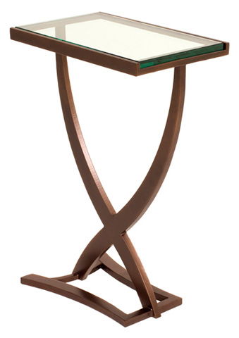 Charleston Forge - Sterling Drink Table - 7406