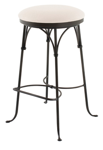 Charleston Forge - Shaker Arch Backless Swivel Counterstool - C306