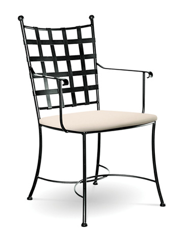Charleston Forge - Etrusche Arm Chair - C504