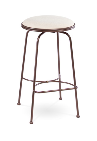 Image of Providence Backless Swivel Barstool