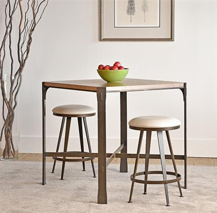 Charleston Forge - Woodland Square Dining Table - T50C42
