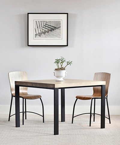 Charleston Forge - Astor Square Dining Table - T780