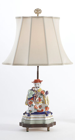 Chelsea House - China Fig Lamp - 68232