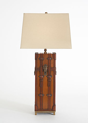 Chelsea House - Leather Lamp - 68270