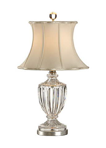 Chelsea House - Crystal Urn Lamp - 68308