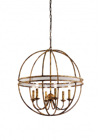 Chelsea House - Tuscan Chandelier - 68363