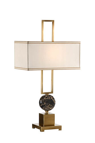 Chelsea House - Disc and Frame Lamp - 68385