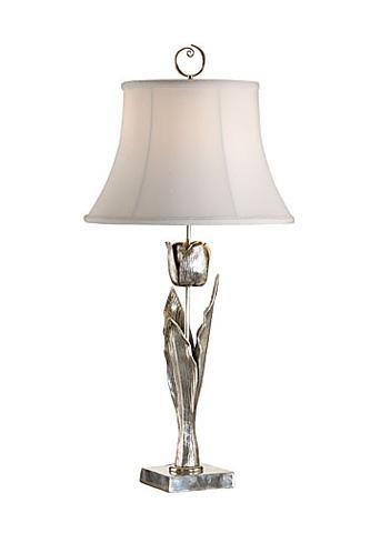 Chelsea House - Tulipia Lamp in Silver - 68428