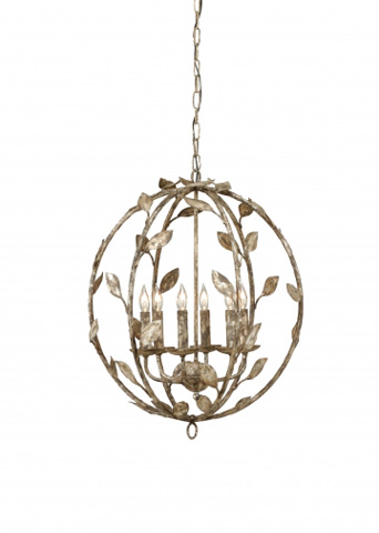 Chelsea House - Botanical Leaf Chandelier - 68471