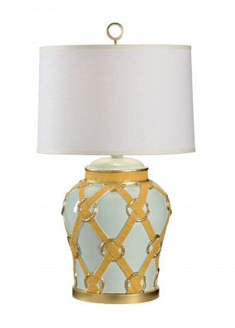 Chelsea House - Straps with Rings Lamp - 68496