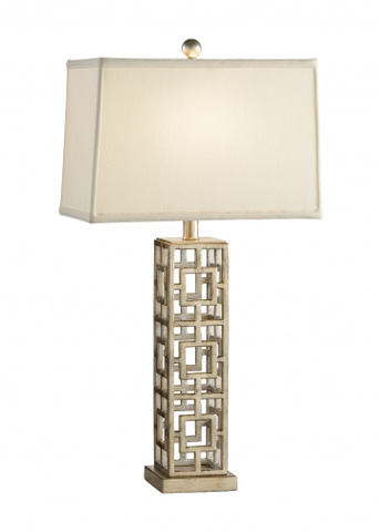 Chelsea House - Squares in Squares Lamp - 68560