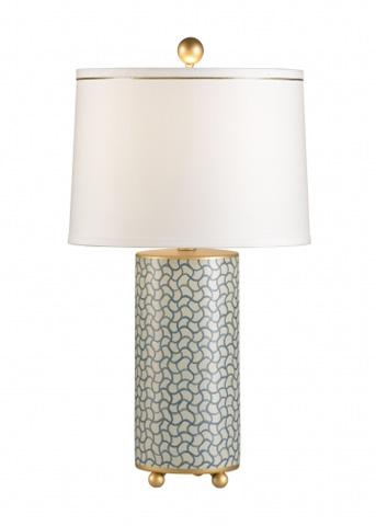 Chelsea House - Wavy Lines Lamp - 68563