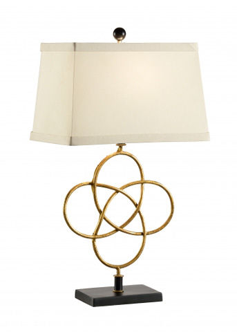 Chelsea House - Loose Knot Lamp in Gold - 68589