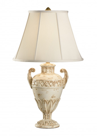 Chelsea House - Floral Urn Lamp - 68595