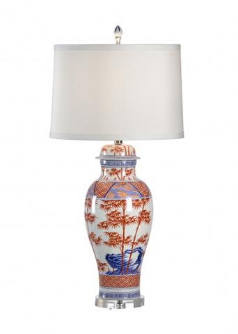 Chelsea House - Greek Key Lamp - 68632