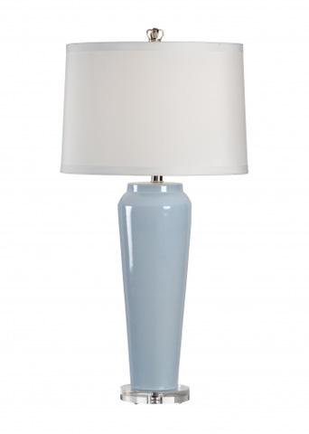 Chelsea House - Tall Vase Lamp in Blue - 68640