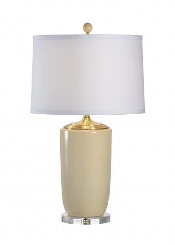 Chelsea House - Large Beige Vase Lamp - 68645
