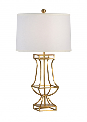 Chelsea House - Garrison Lamp in Gold - 68654
