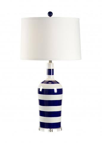 Chelsea House - Beach Stripe Lamp - 68663