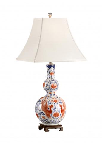Chelsea House - Chinese Pheasant Vase Lamp - 68685