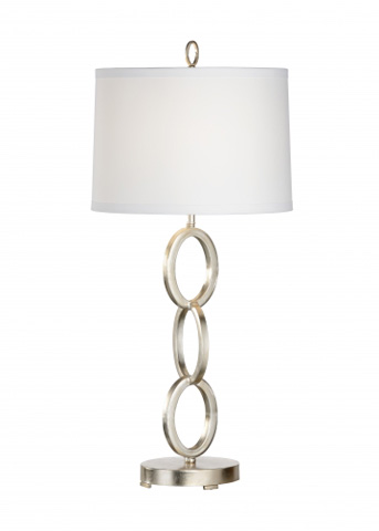 Chelsea House - Ring Lamp in Silver - 68748