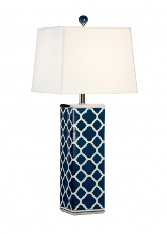 Chelsea House - Galloway Lamp in Blue - 68768