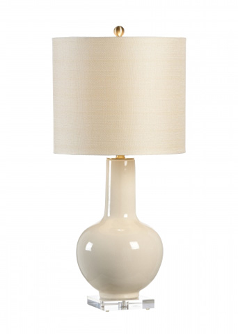 Chelsea House - Astor Vase Lamp in Cream - 68775