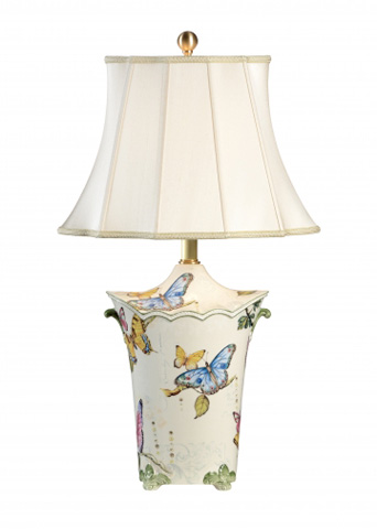Chelsea House - Butterfly Urn Lamp - 68828