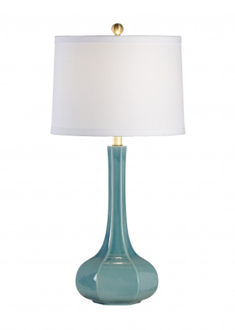Chelsea House - Diego Lamp in Turquoise - 68836