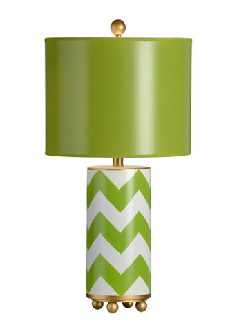 Chelsea House - Wrightsville Lamp in Green - 68922