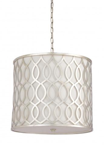 Chelsea House - Swirl Pendant in Silver - 68927