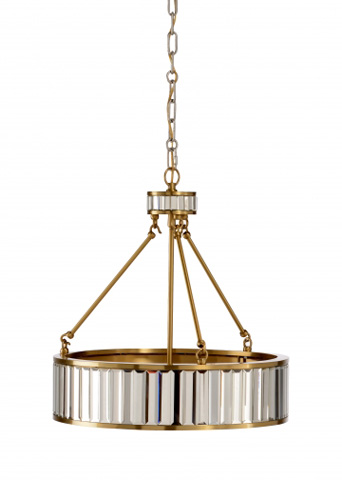 Chelsea House - Mirrored Chandelier - 68930