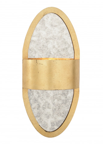 Chelsea House - Deco Sconce in Gold - 68934