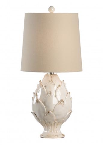 Chelsea House - Artichoke Lamp in White - 68954
