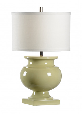 Chelsea House - Grand Hotel Lamp in Celadon - 68968