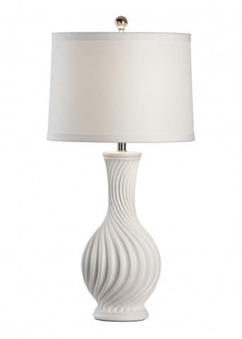 Chelsea House - Bates Lamp in White - 68973