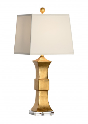 Chelsea House - Oriental Lamp in Gold - 68979