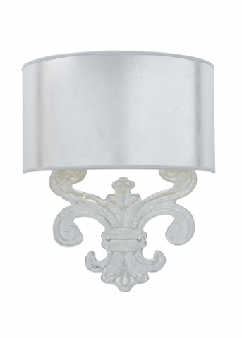 Chelsea House - Sanders Sconce in Silver - 68998